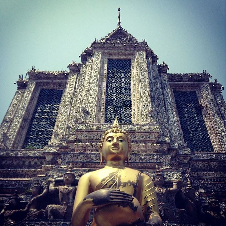 Watarun Buddha Temple Instaios Insta_awe Igers Ignation Igersoftheday Igersmanila Places Th Thailand Instagramthat InstaPlace Tourist Traveller Chaophraya Tweegram Followstagram Megusta Melikey Happybatins Batintin