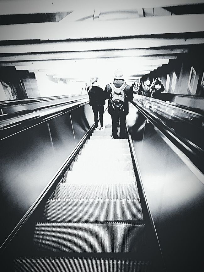 Human Traffic Stairway To Home Stress