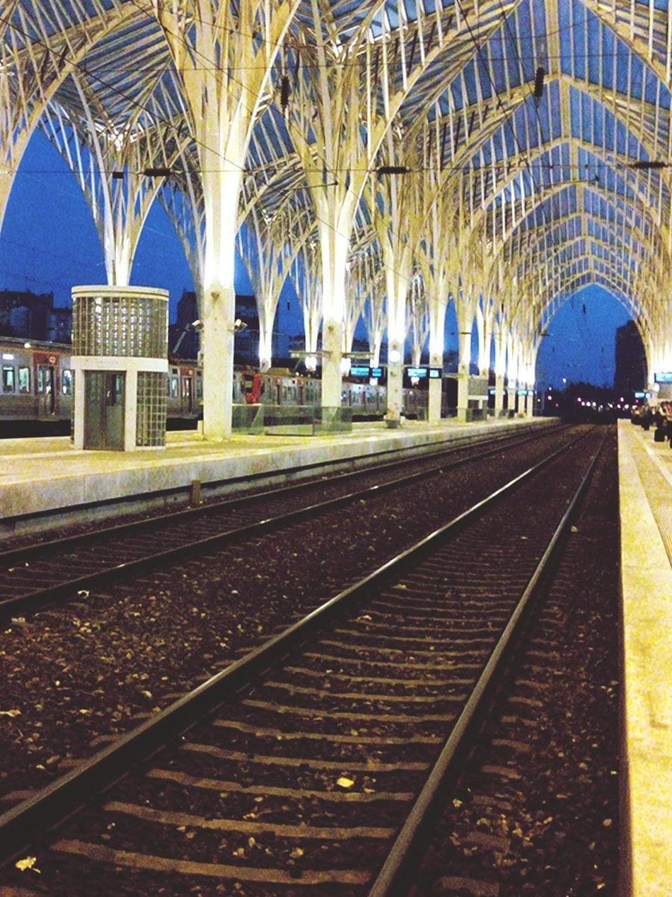 Gare Garedooriente Gare Do Oriente Train Train Station Train Tracks Traintracks Trainstation Railwaystation Rail