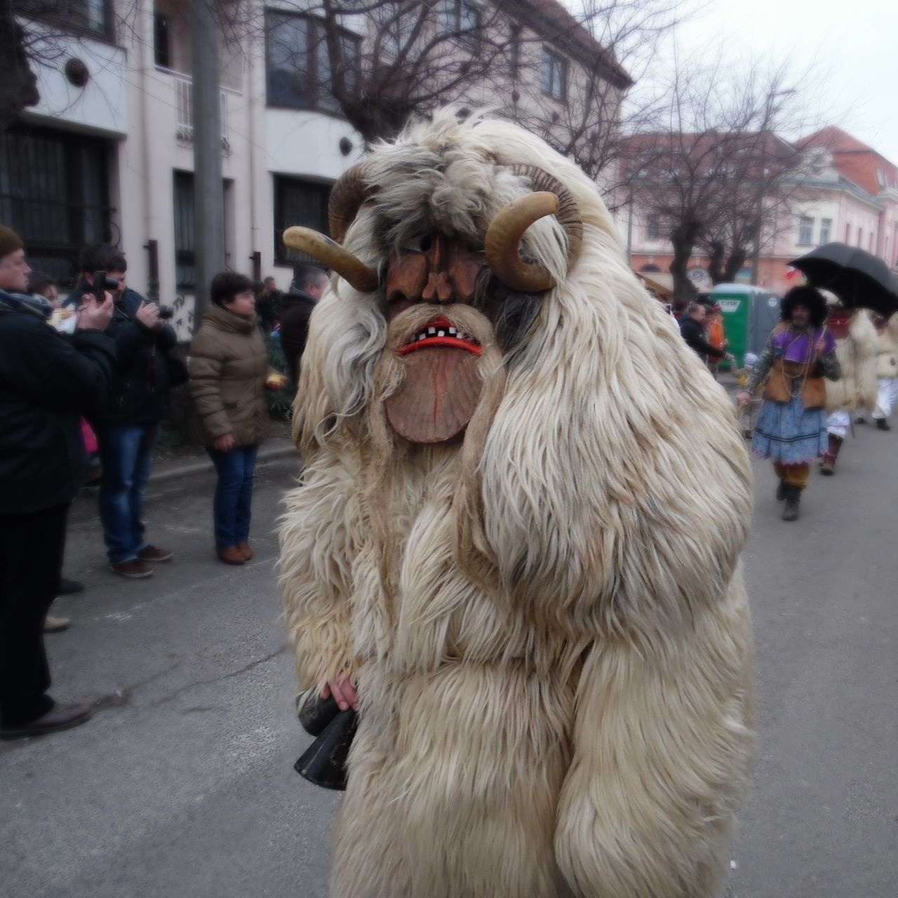 Hungary Mohács Festival Busó Costume Carnival