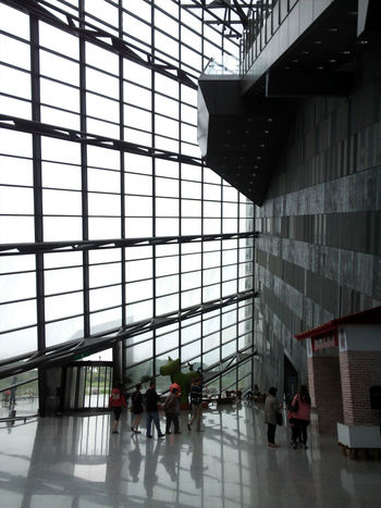 Lanyang Museum, so beautiful and very interesting! Architectue Bright Culture Geography History Inside Museum Unique Architecture
