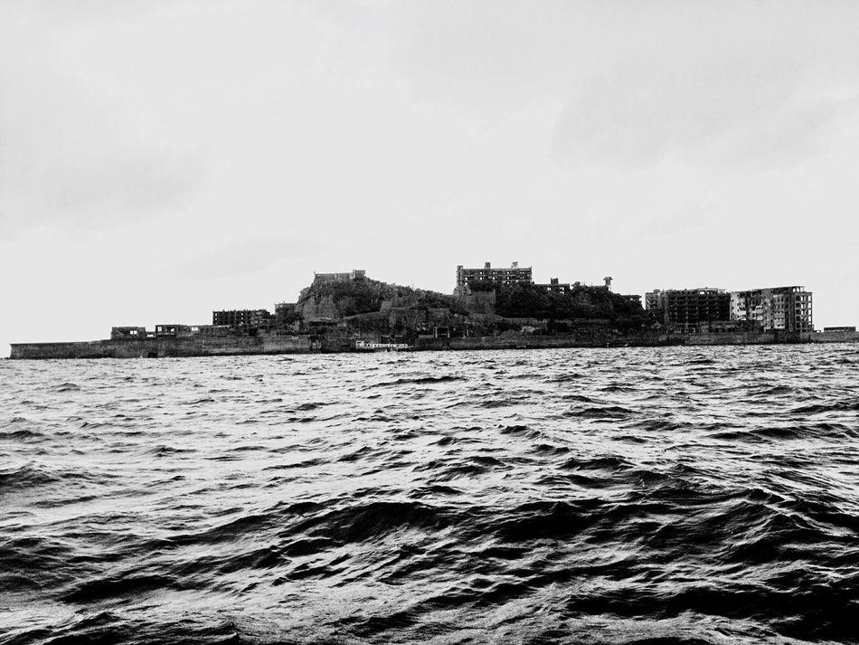 Found On The Roll 2014.08.14 軍艦島 軍艦島(gunkan-jima) Gunkanjima Hashima Island World Heritage Nagasaki Japan Japan Photography Trip Photo Blackandwhite Blackandwhite Photography