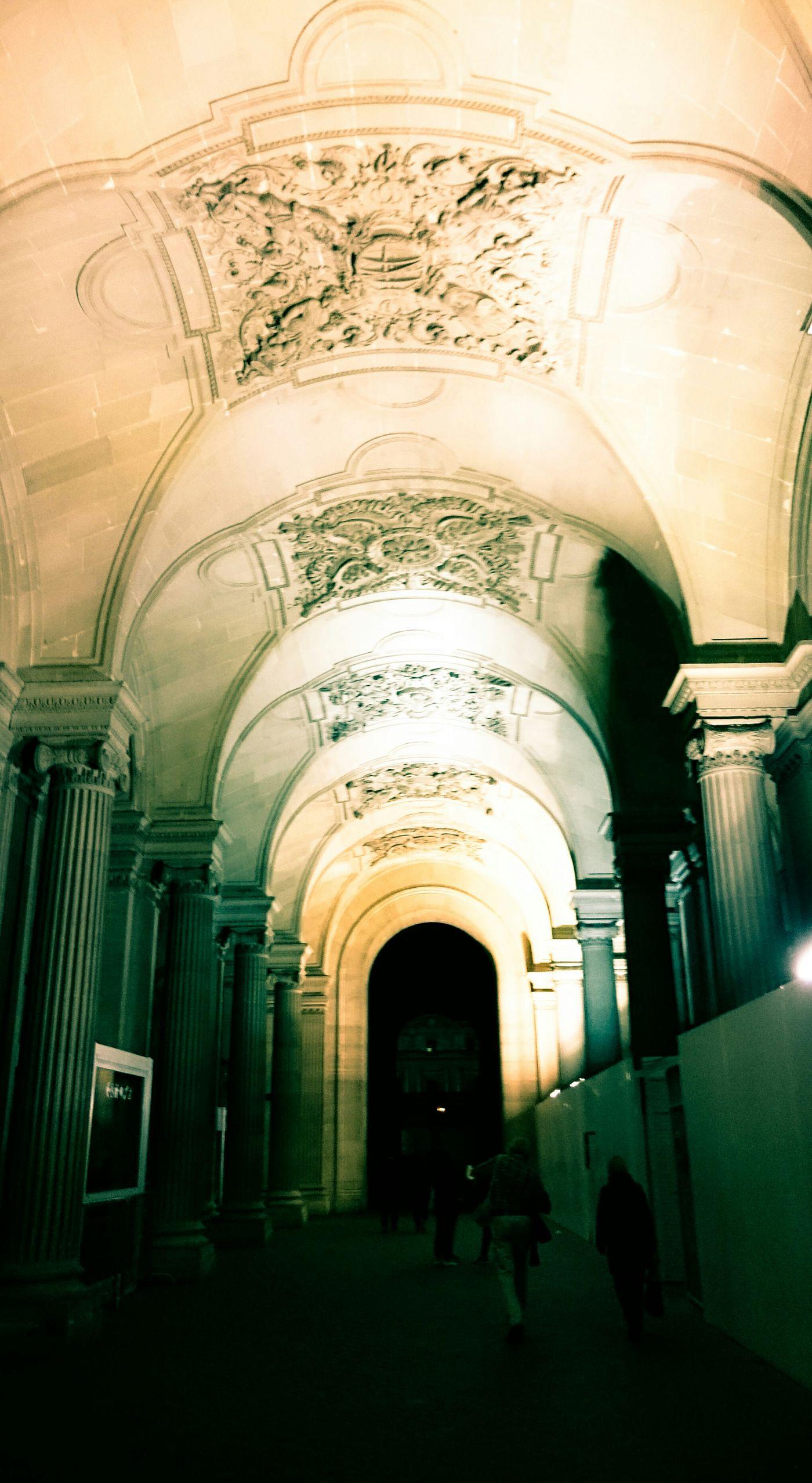 Passage_richelieu Musee Du Lourve Paris Je T Aime ParisByNight