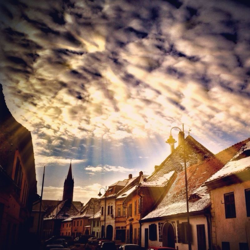 Romania hot_shotz ee_daily clouds streetphotography sun Nature streetart sunrise sky Love clouds and sky cloudporn skyporn by Cristian