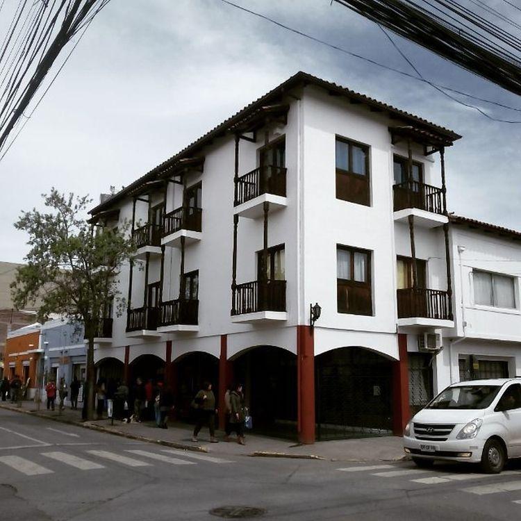 Recorriendo la calle estado Rancagua Santiagoapie