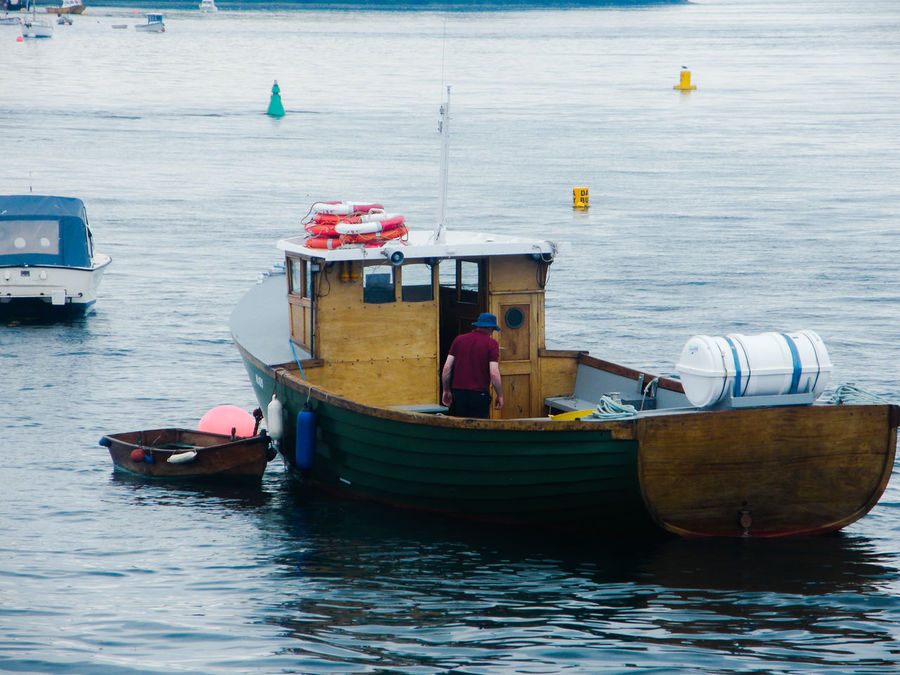 Ards Peninsula Boat Day Fishing Boat Mode Of Transport Moored Nautical Vessel No People Northern Ireland Outdoors Portaferry Sea Strangford Lough Transportation Travel Destinations Water
