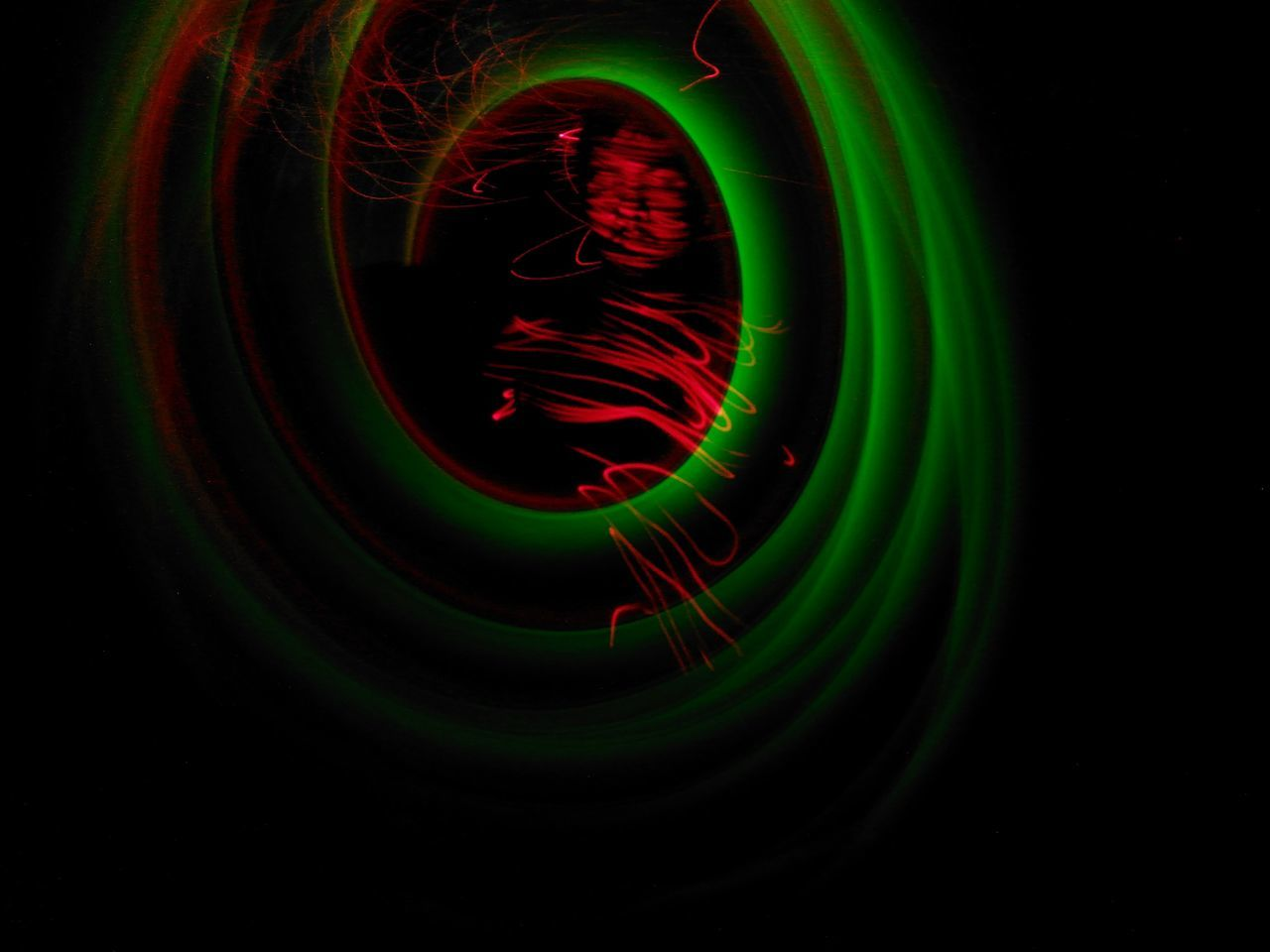 Trapped in a spiral Green Color Black Background Conceptual Self Portrait Multi Colored Close-up Light Painting Photography. Art One Person Long Exposure Light Trail Selfportrait Indoors  Abstract Laser Art Is Everywhere The Portraitist - 2017 EyeEm Awards BYOPaper!