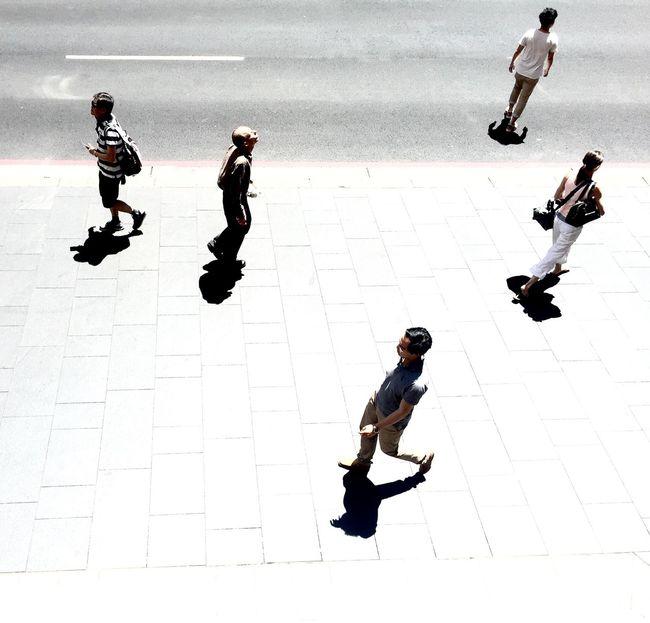 Sydney QVB Walking Streetphotography