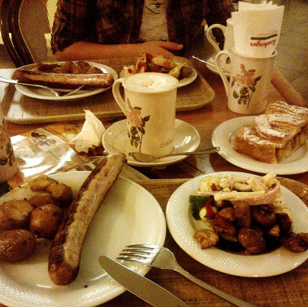 Vienna Austria Rosenberger Restaurant Dinner Food Coffee