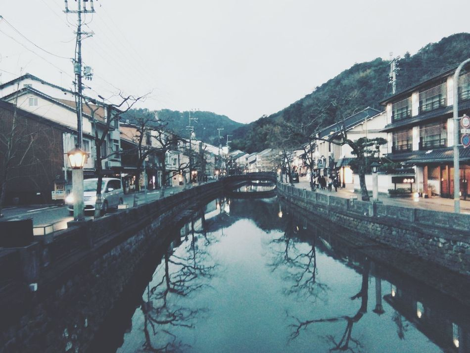 Sore di Kinosaki Onsen, Japan Japan WaterBridge - Man Made Structure Sky Tree Outdoors Extreme Weather Architecture No People Day KinosakiOnsen Kinosaki Kinosaki Onsen Japanese  Seasons Japanese  Japanese Style Spring Osaka,Japan City Architecture Coming Outdoors Nature Reflection Mobile Photography