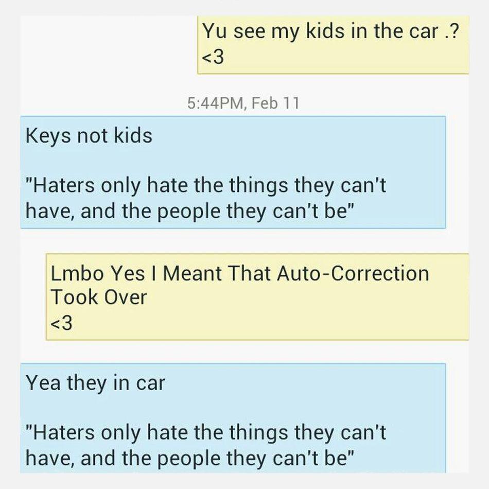 Stupid Auto-Correction