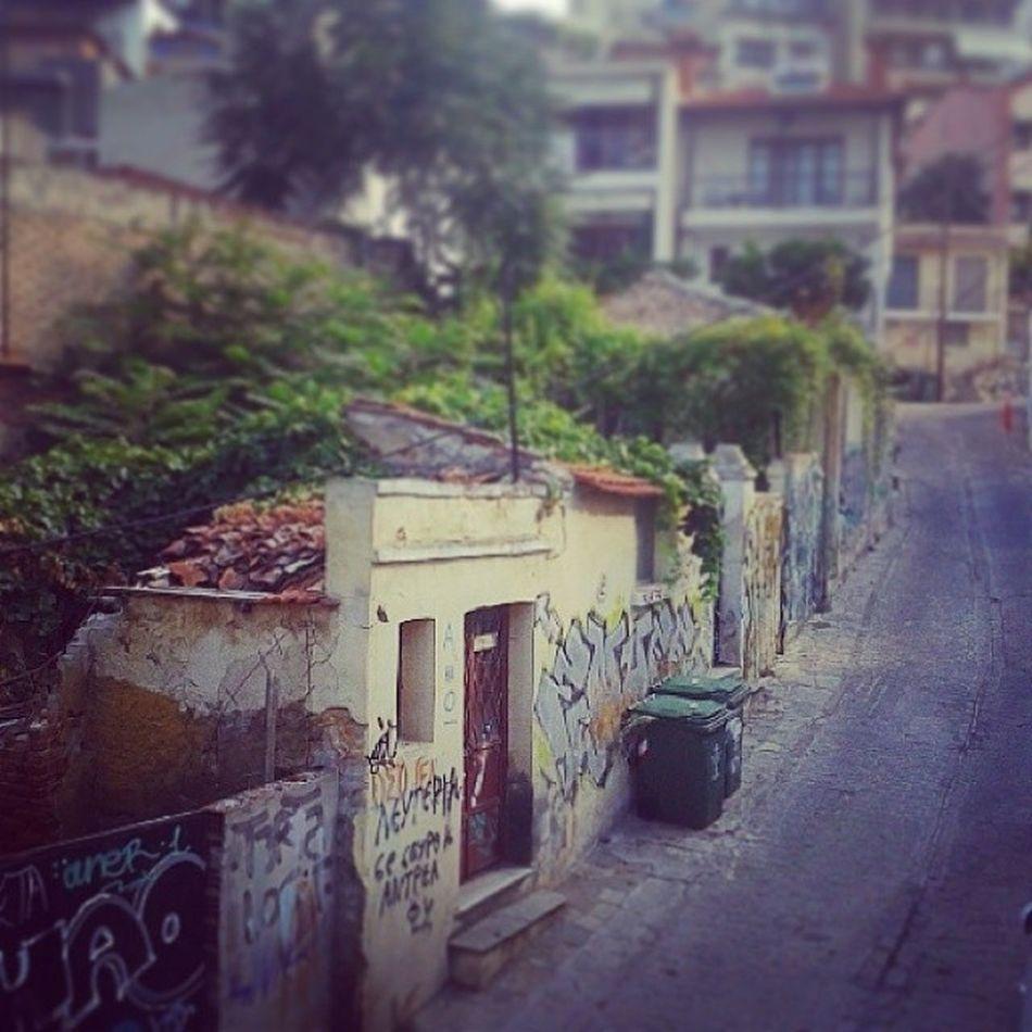 Greek streets Toyalleyways Thessaloniki Greece Graffiti