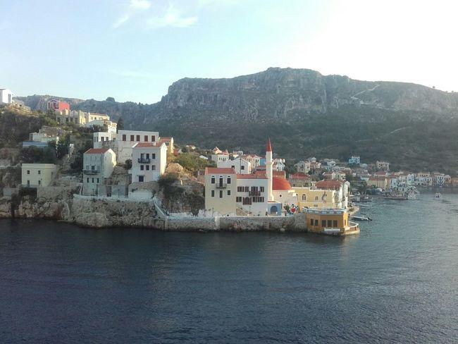 How You Celebrate Holidays Hollidays Kastellorizo Greece 450 Inhabitants Small Island
