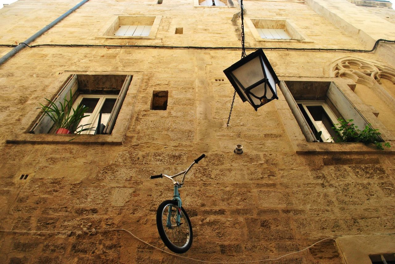 Architecture Bicycle Building Exterior Built Structure Day No People Outdoors Residential Building Window