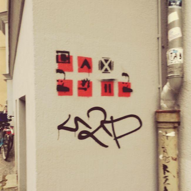 First Eyeem Photo Streetart StreetArtEverywhere Streetart/graffiti Streetartleipzig Stencilart Stencil