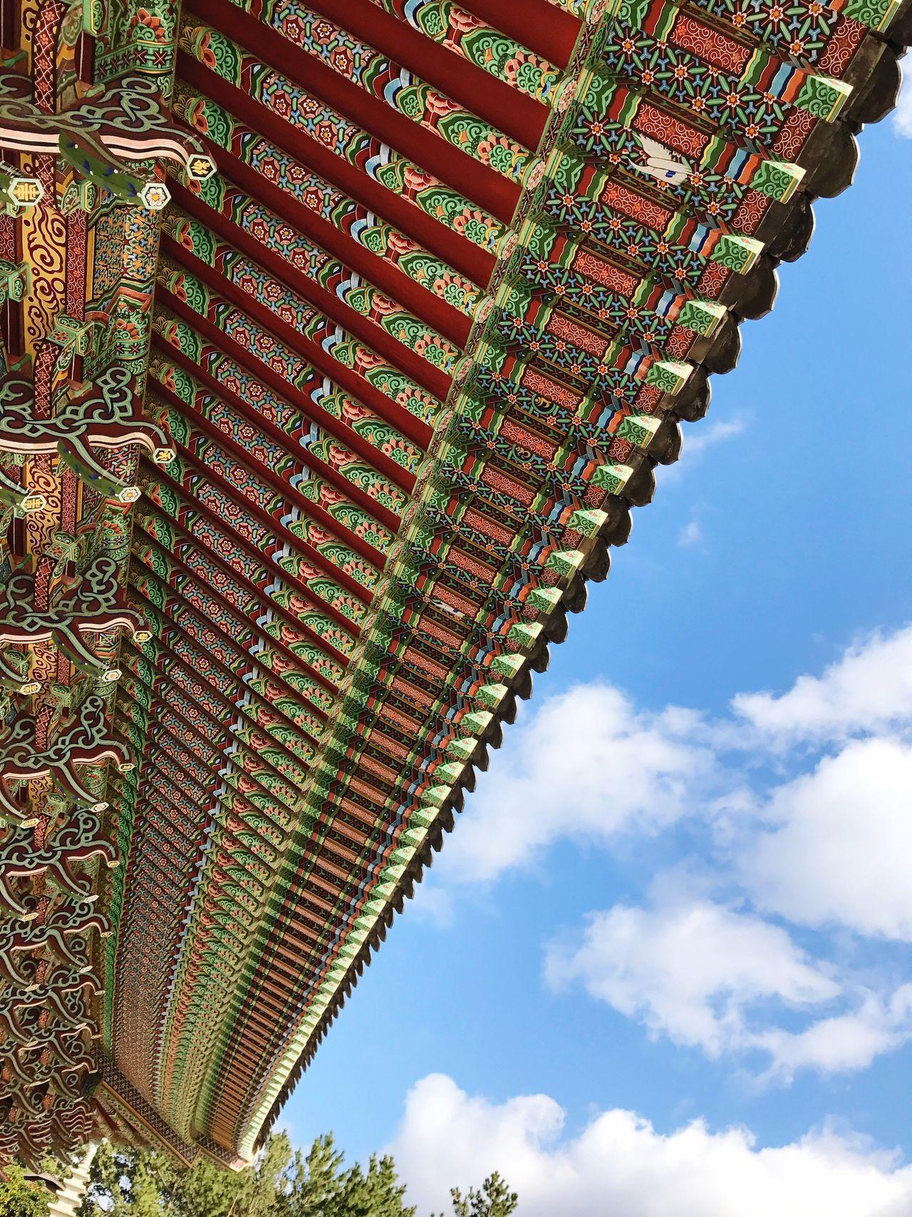 Roof Temple Jeju Island, Korea Architecture Built Structure Sky Outdoors Nature Culture