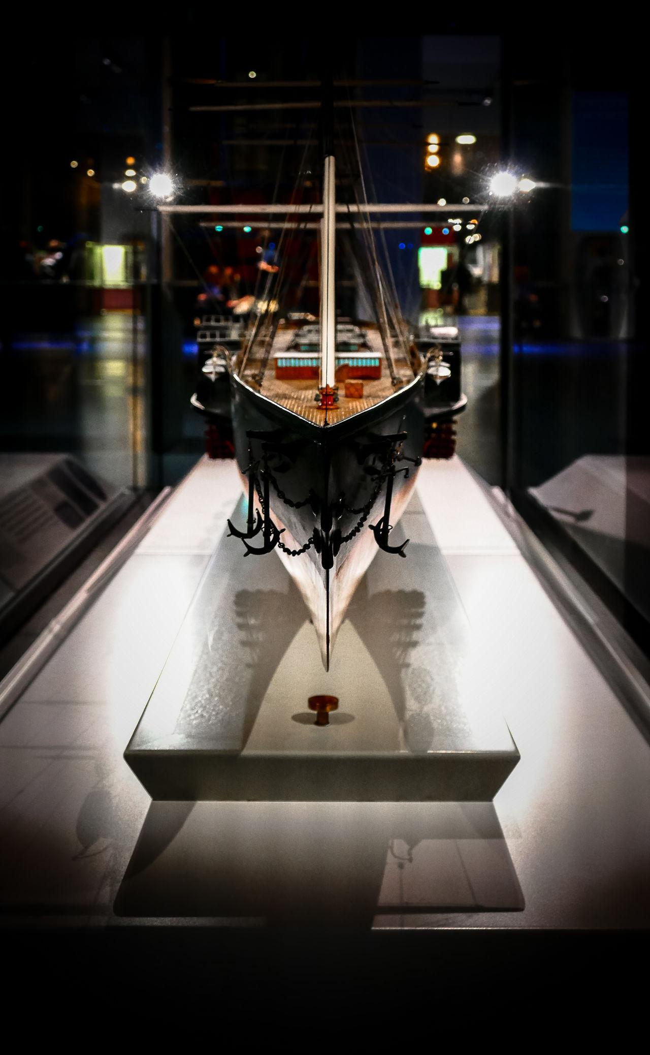 Modelboat ScienceMuseum Minature London