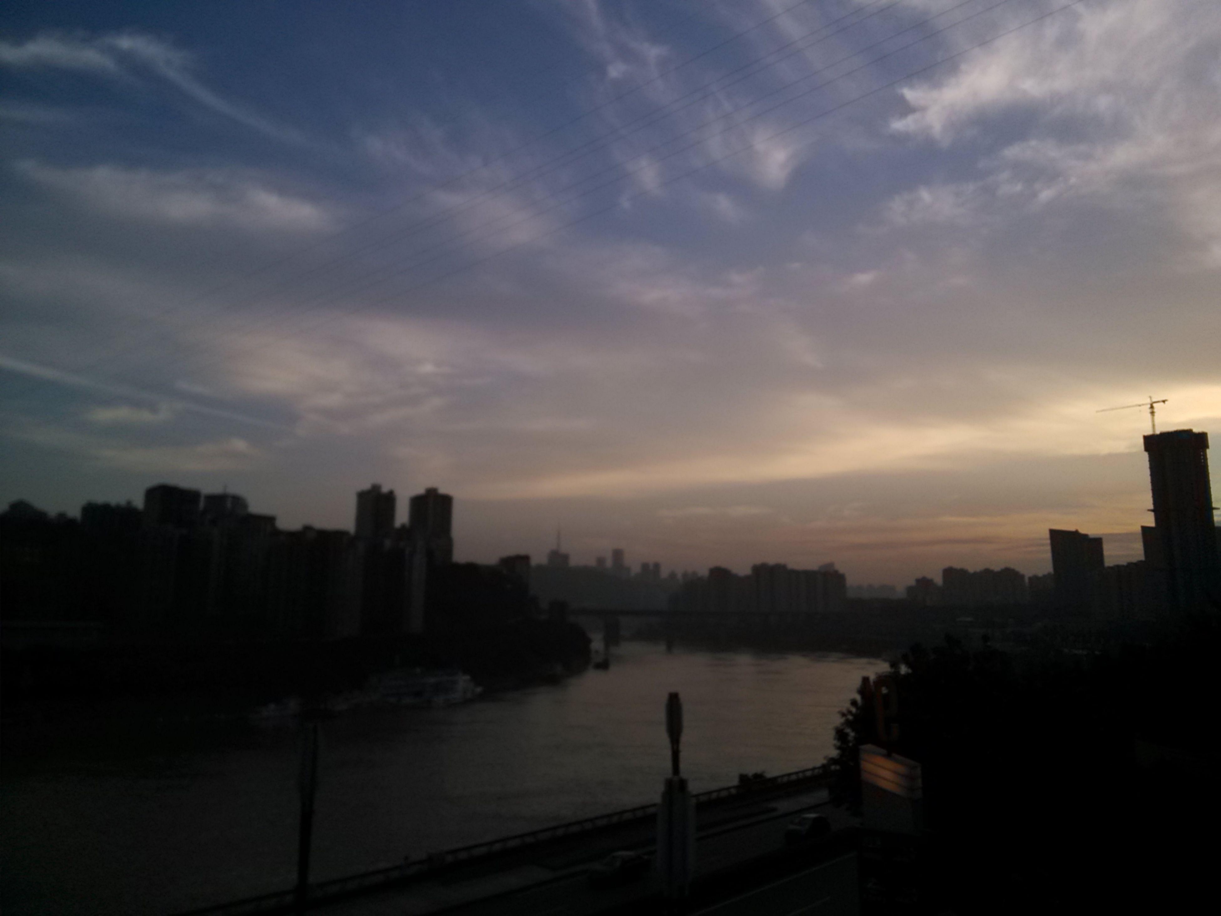 building exterior, architecture, built structure, sky, water, sunset, city, silhouette, cityscape, river, cloud - sky, cloud, skyscraper, scenics, urban skyline, reflection, lake, nature, outdoors, building