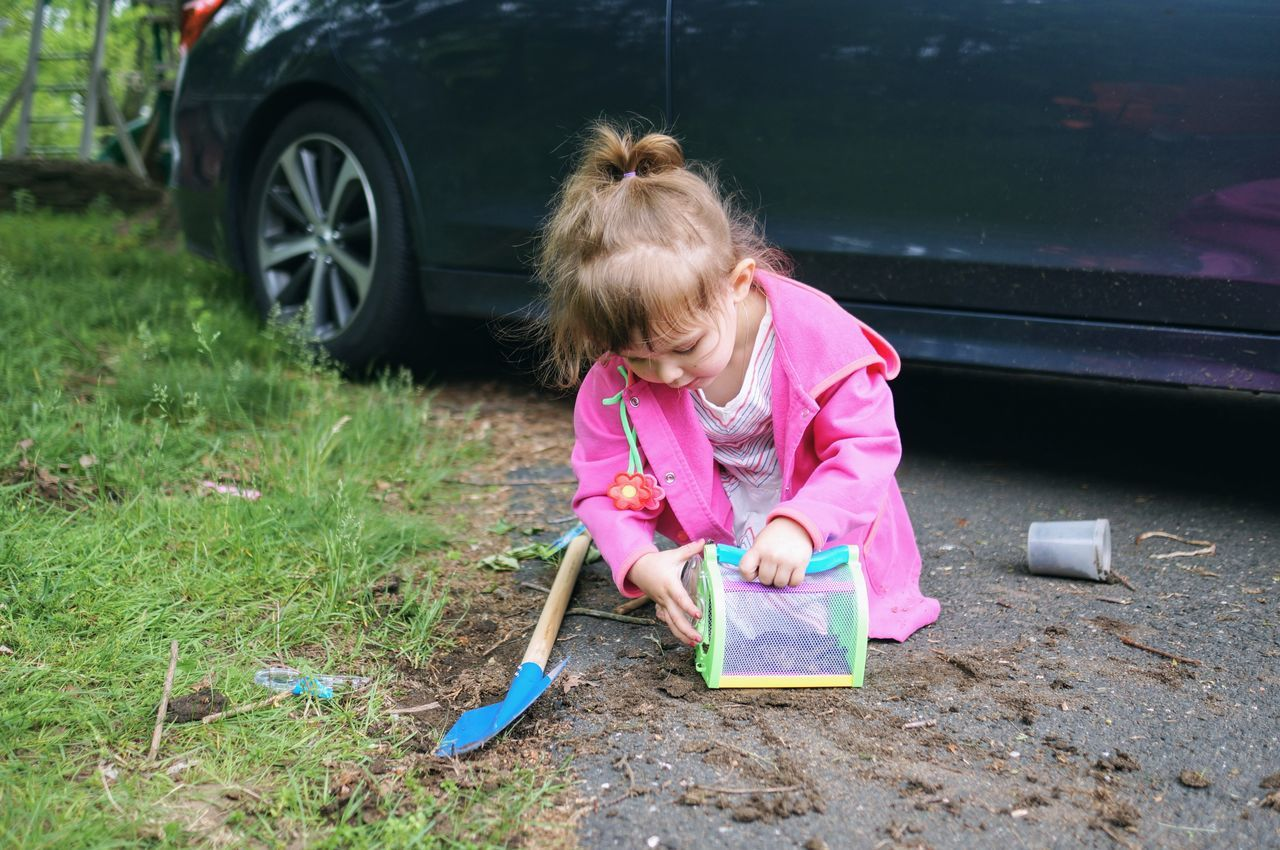 digging up bugs. One Girl Only Child Childhood Outdoors Grass Girls Play In The Dirt Play In The Grass Go Outside Playing Outside Getting Dirty Exploring Live For The Story Summer Science Shovel Digging Digging Holes