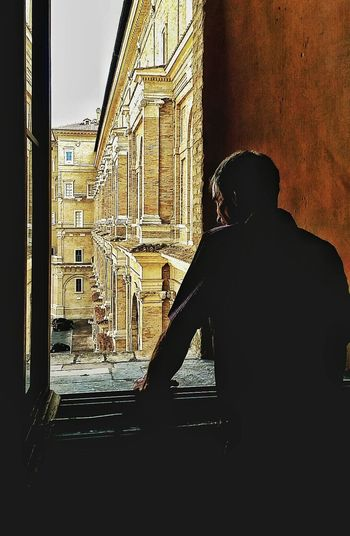Colour Of Life Italy Holidays Rome Through My Eyes Vatican City Rome Forever Artphotography Looking Out Of The Window Light And Shadow Twilight Scene