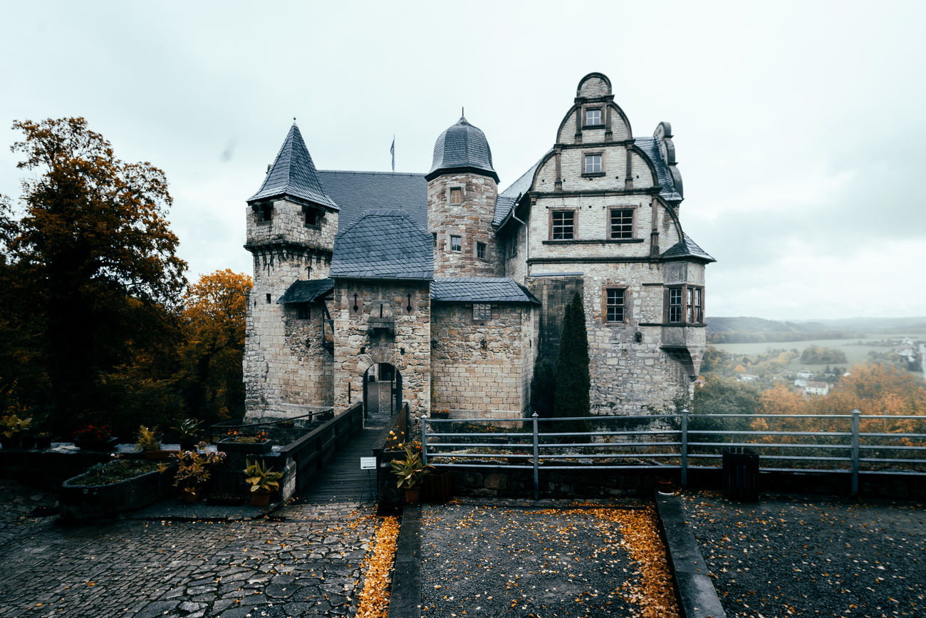This beauty is so sweet Architecture Autumn Autumn Colors Beauty Beauty In Nature Beauty Of Decay Building Exterior Built Structure Business Finance And Industry Capture The Moment Castle Castle View  Day Morning No People Nostalgia Nostalgic  Old Buildings Outdoors Rainy Days Sky Travel Travel Destinations Travel Photography Traveling