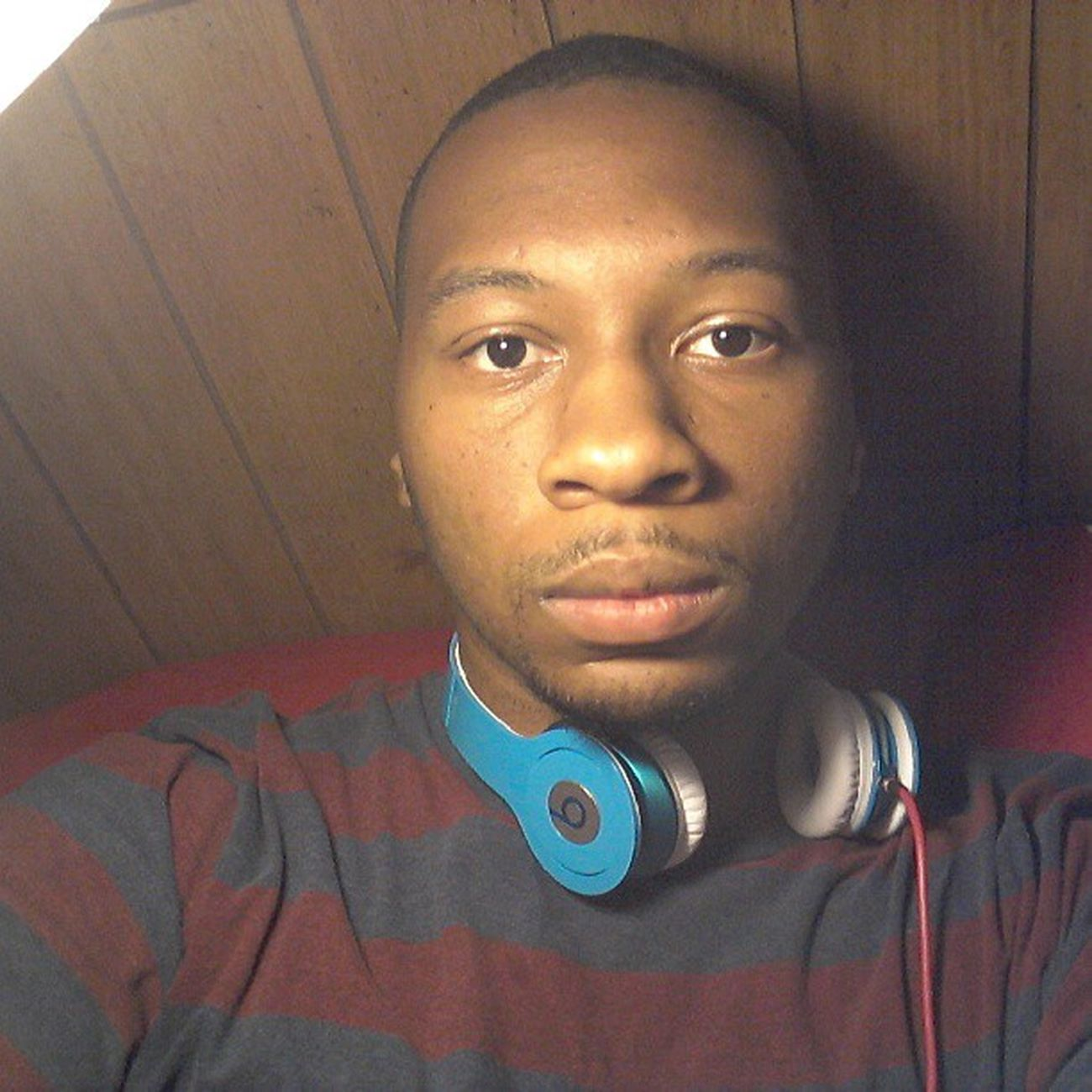 Chillin...listenin to music to calm my mind. Drebeats Headphones InMyZone