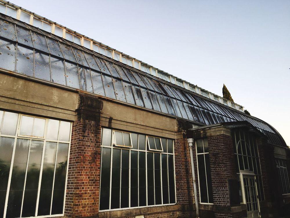 The Wintergarden glasshouse Gardens Glasshouse