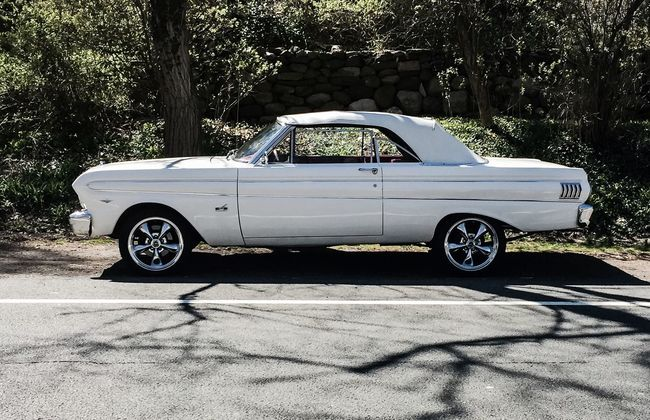When I was 16, this was the only car I wanted. A rare find, even then | This one was very well restored | #ford #Falcon