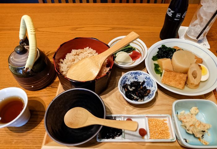 Yum! yum! japanese food. Japanese rice with soup and side dish. Japan Layovers Cabincrew Fujifilm_xseries Travel Photography Tokyo Tokyo,Japan Travel Wanderlust ASIA Photography Restaurant Japanese Food Airport Chef