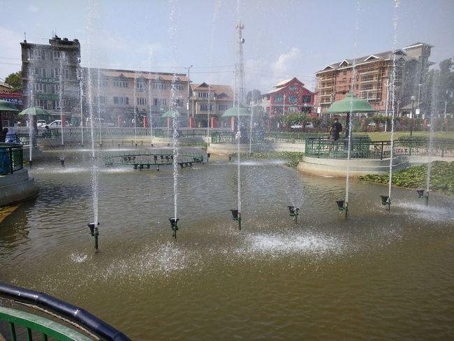 Water fountains PPark Kashmir Is Heaven Kashmir Beauty City Freshness