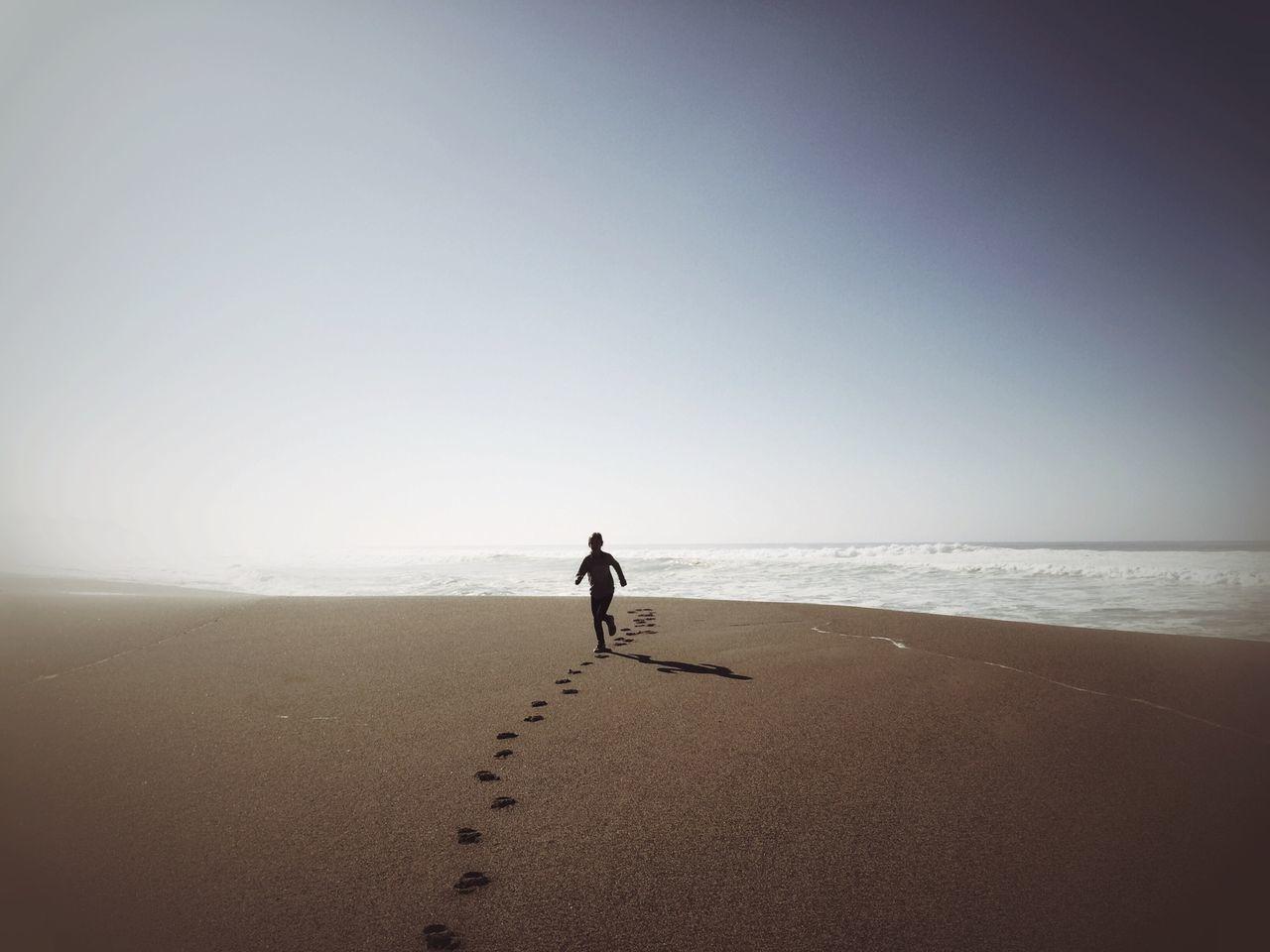 Beautiful stock photos of sand, Beach, Boys, Childhood, Clear Sky