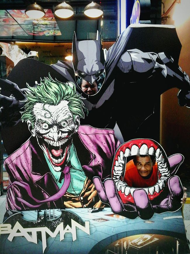 Batman Joker ArkhamCity Mouth People No People Vertical Archival Indoors  Close-up Night