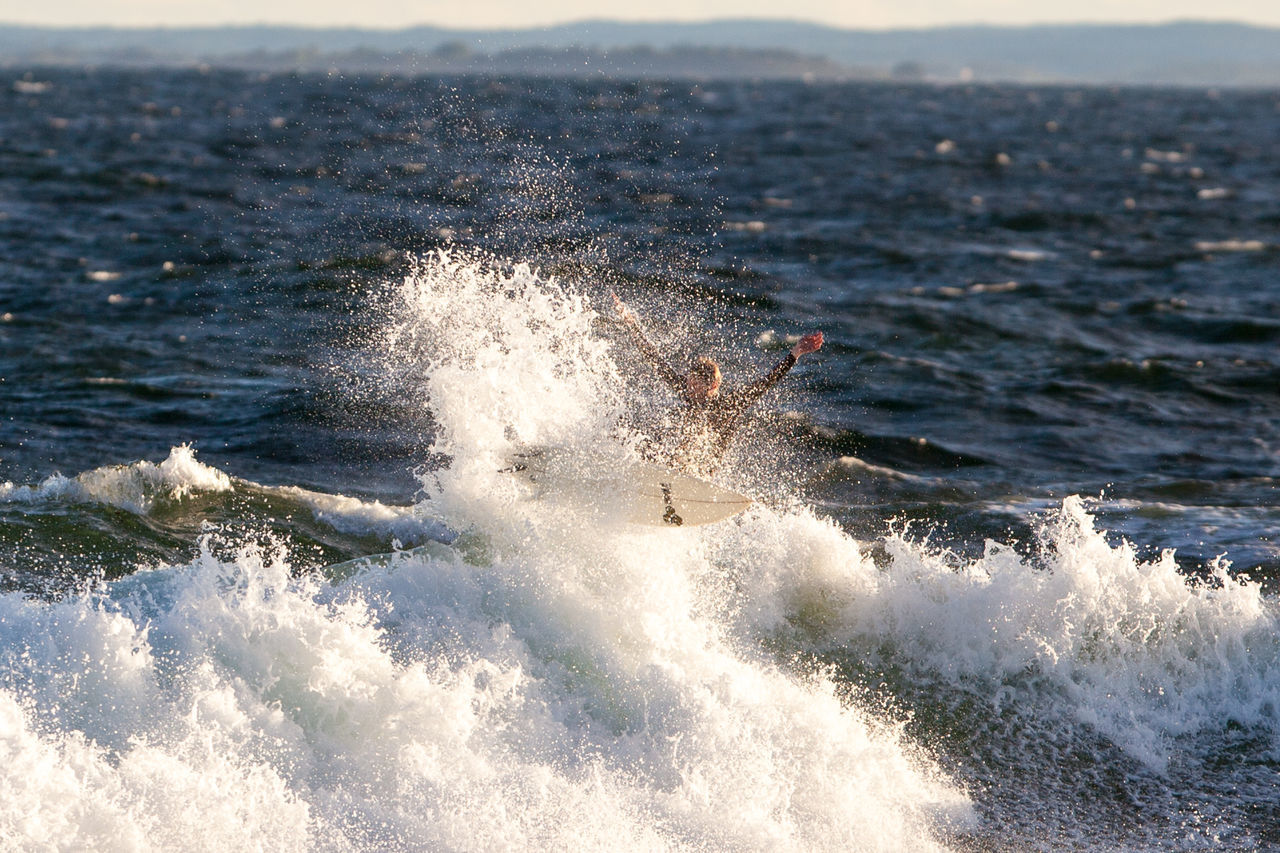 Air Jonas Adventure Leisure Activity Lifestyles Motion Nevlungstranda S Saltstein Sea Seascape Surfing Unrecognizable Person Vestfold Vestfold, Norway Water Wave Live For The Story