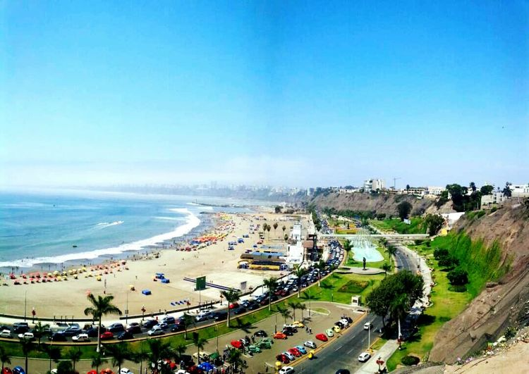 playa Beach Large Group Of People Sea Vacations High Angle View Outdoors Travel Destinations