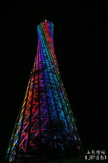 《五彩缤纷》-【JR•道影】 一个城市的缤纷多彩,再给我一个机会,再多看你一眼。 Multi Colored No People Travel Destinations Sky Cityscape Night Celebration Illuminated Outdoors First Eyeem Photo