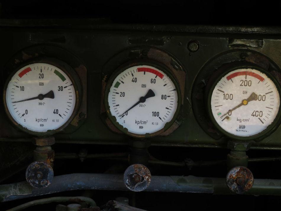 Gauge Pressure Gauge Meter - Instrument Of Measurement Control Panel Close-up Full Frame EyeEm Diversity