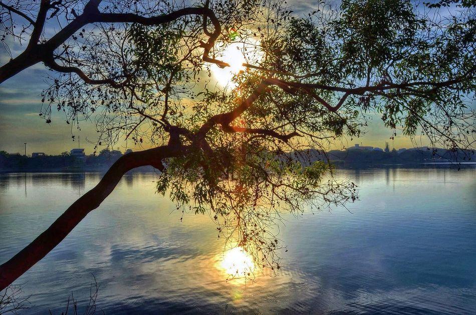 My sunset Enjoying Life Sunset #sun #clouds #skylovers #sky #nature #beautifulinnature #naturalbeauty #photography #landscape Sky_collection EyeEm Best Shots