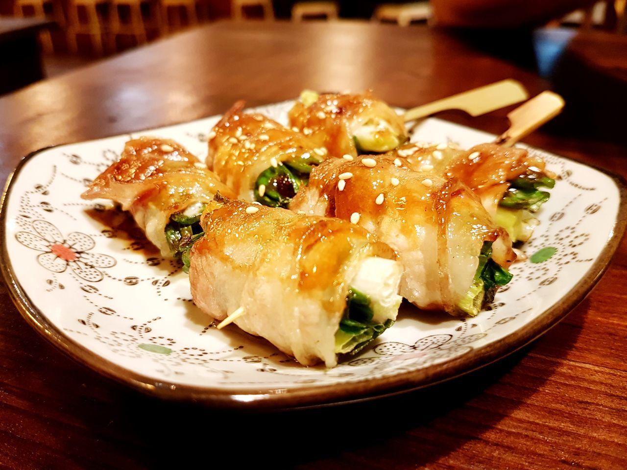 串燒 Food Ready-to-eat Yummy Tainan, Taiwan 串燒 好吃 日本料理 やきもの Pork