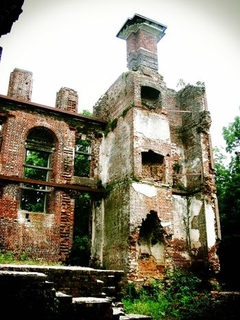 The Ruins of Rosewell Ancient Architecture Bad Condition Built Structure Damaged Day Deterioration Exterior Growth Historic Historical Building History Low Angle View No People Obsolete Old Old Ruin Outdoors Plant Rosewell Mansion Ruined Run-down Sky The Past Travel Destinations