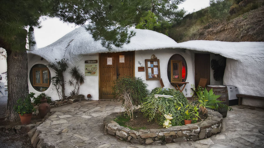 Architecture Beauty In Nature Built Structure Hotel Hotel Los Caracoles House Nature
