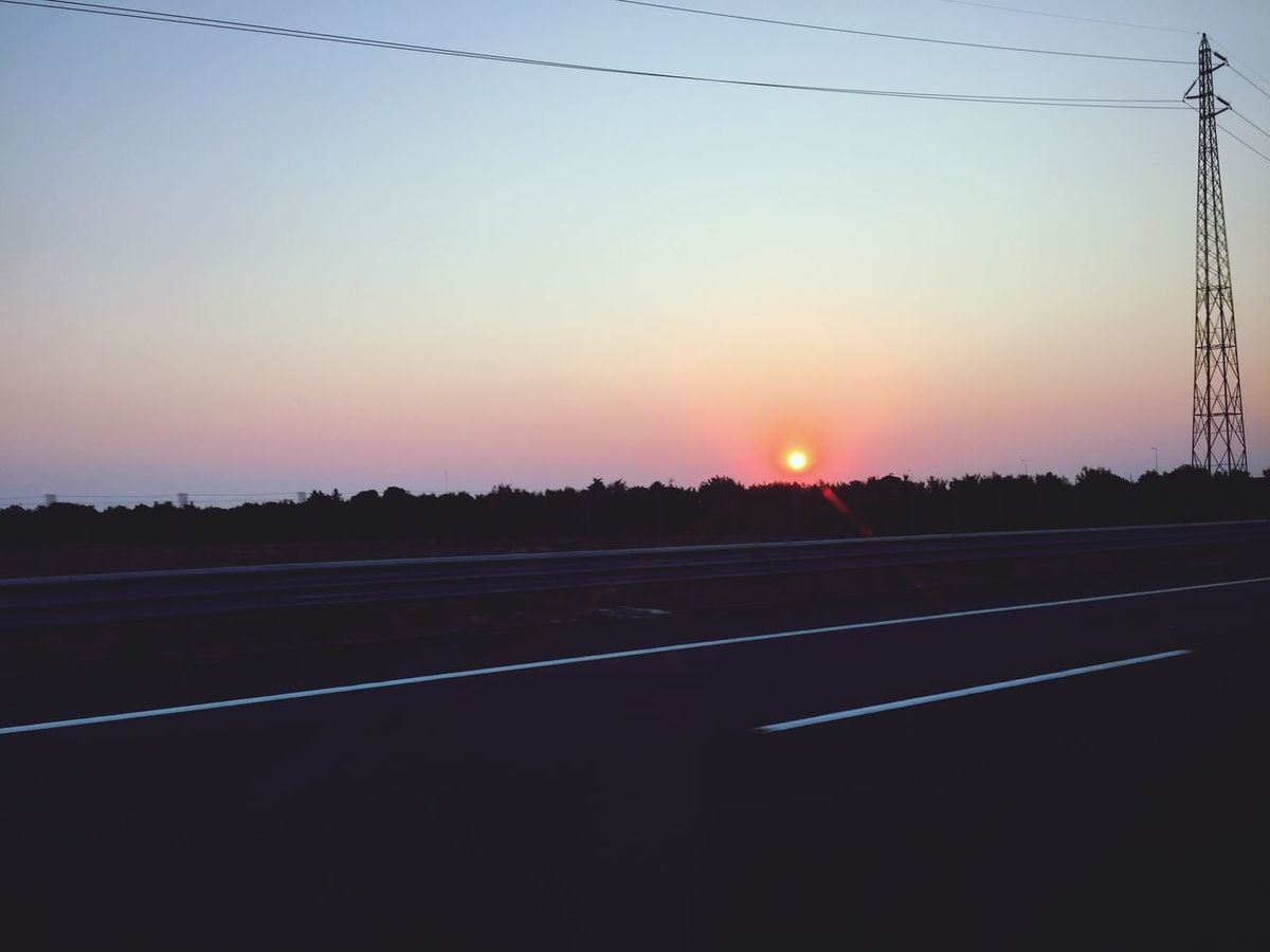 Sunrise Pinksky