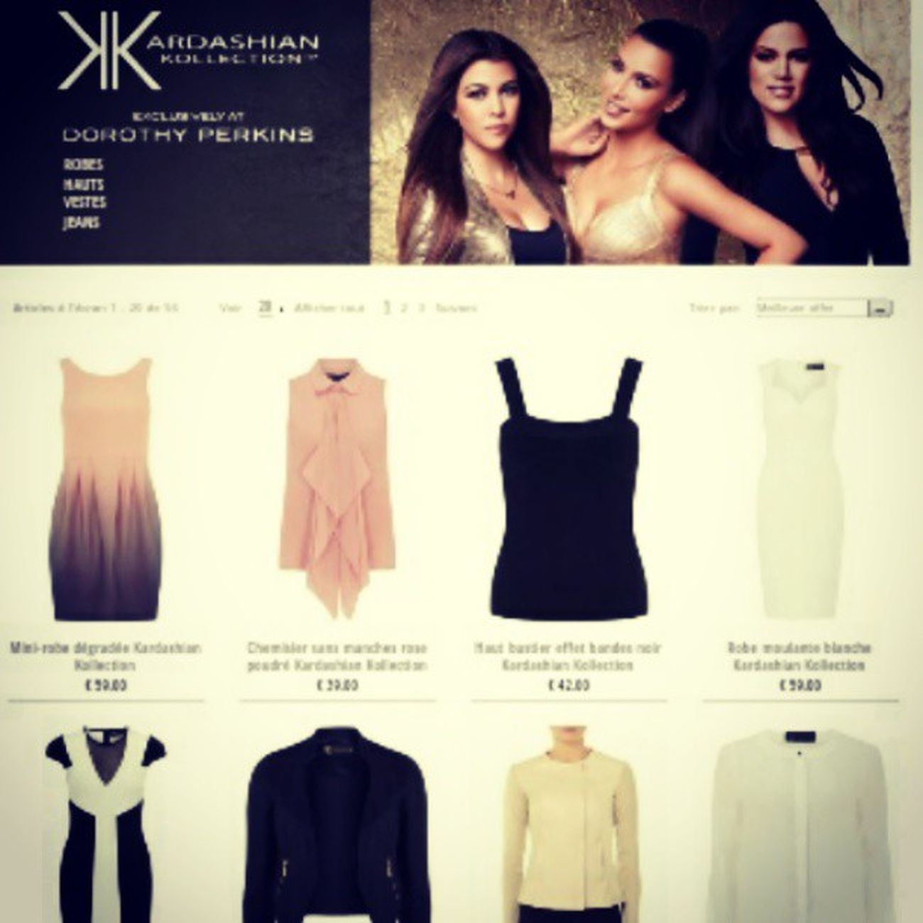 Prochainement je risque de go à Kardashian Kardashiankollection Dorothyperkins Good Dress Job
