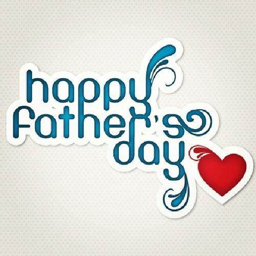 I think the picture says it all :) Happyfathersday