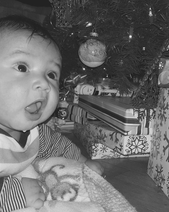 Showcase: December Babys First Christmas Nephew  Drooling Sweetest Baby Ever