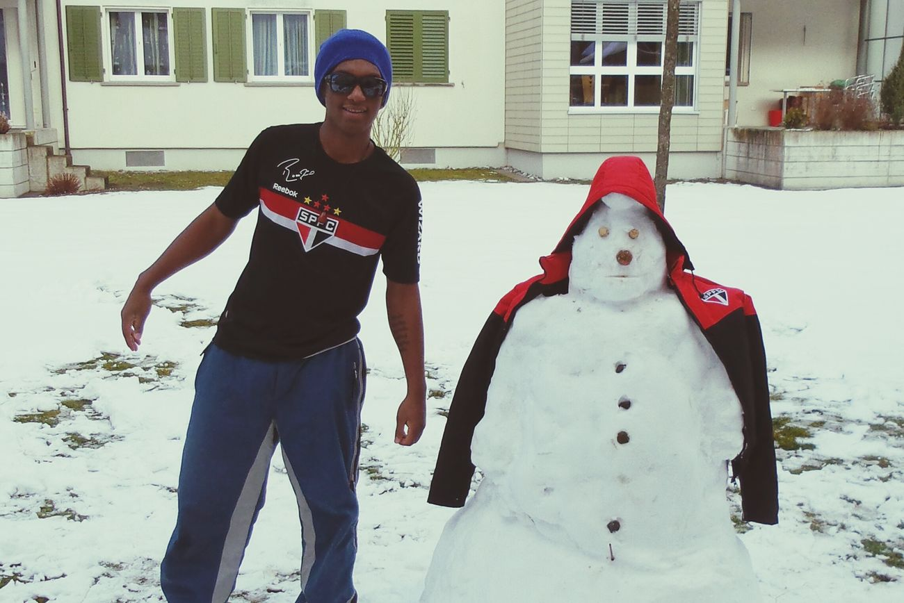 Schneemannfreestyle Legui Zurich, Switzerland Enjoying Life Cold Winter ❄⛄