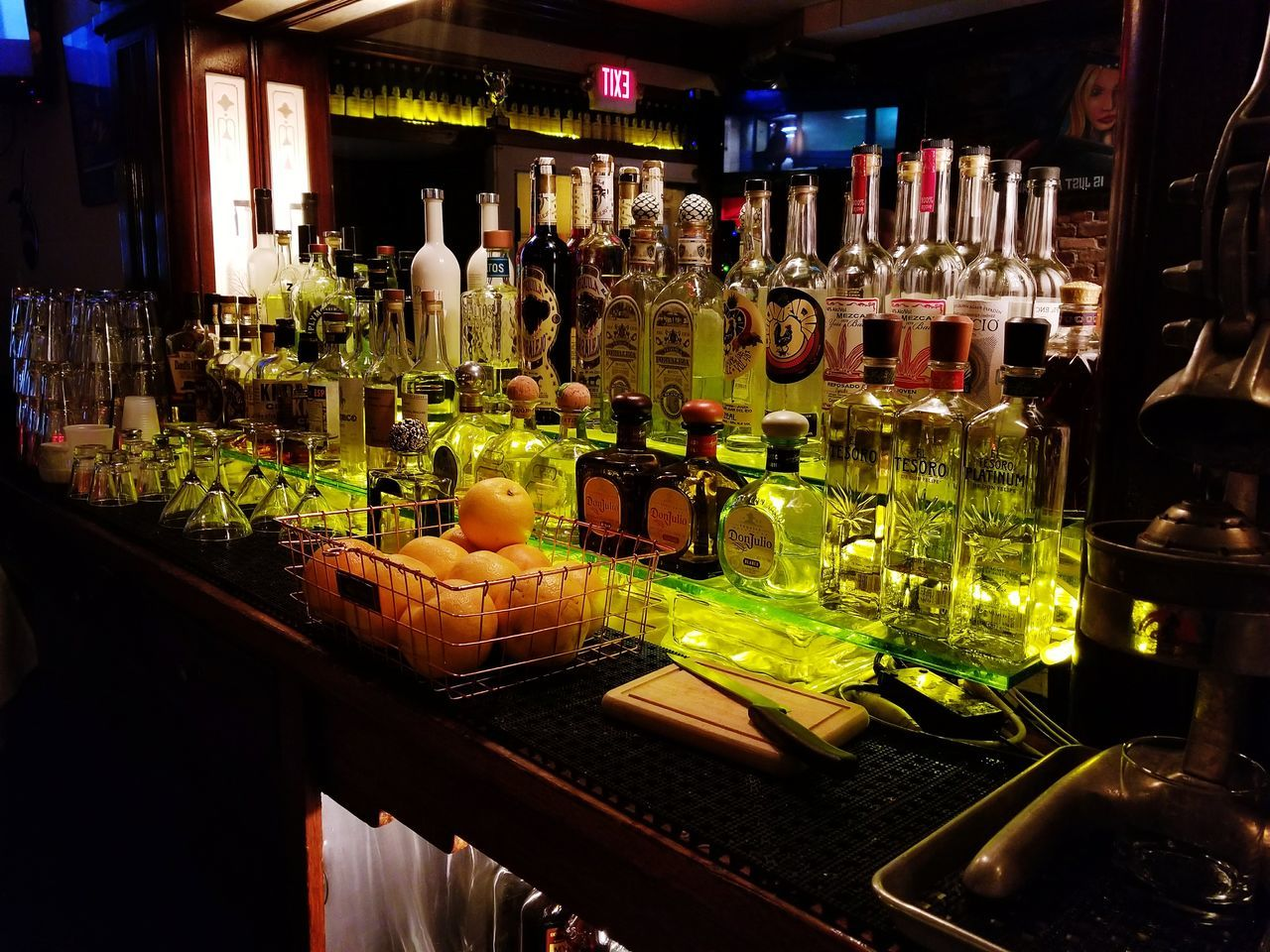 The Week On EyeEm Food And Drink Drink No People Illuminated Indoors  Freshness Night Work Flow Bar Tequila!