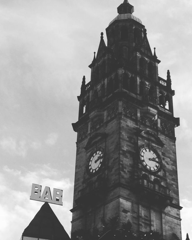 Dark Top Of A Tower Christmas Shopping Church Top Town Sheffield Town Steel City