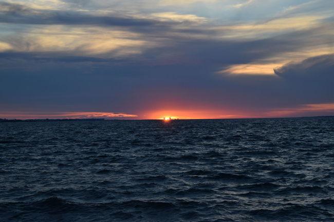 Sunset tonight at Navarre Beach, Florida, USA. Sunset_collection Sunsetporn Sunset Lovers Sunsetlover Sunset And Clouds  Sunsets Sunset #sun #clouds #skylovers #sky #nature #beautifulinnature #naturalbeauty #photography #landscape Sunsetphotographs Sunset_captures Sunset