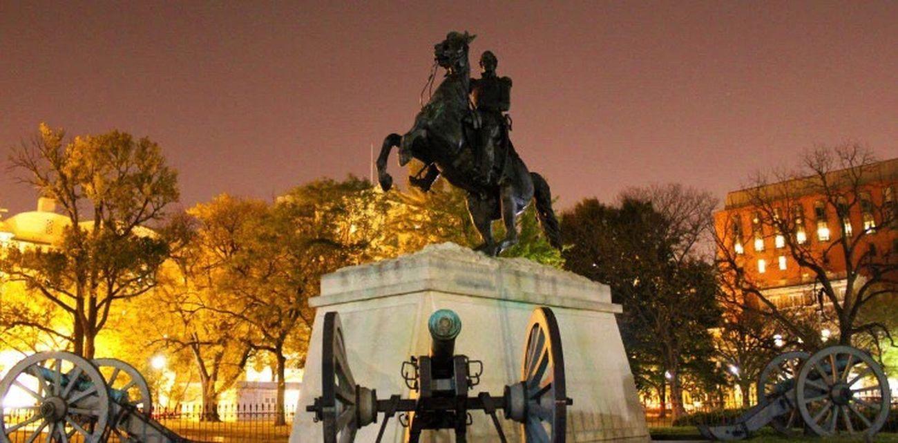 Jackson Memorial at Night