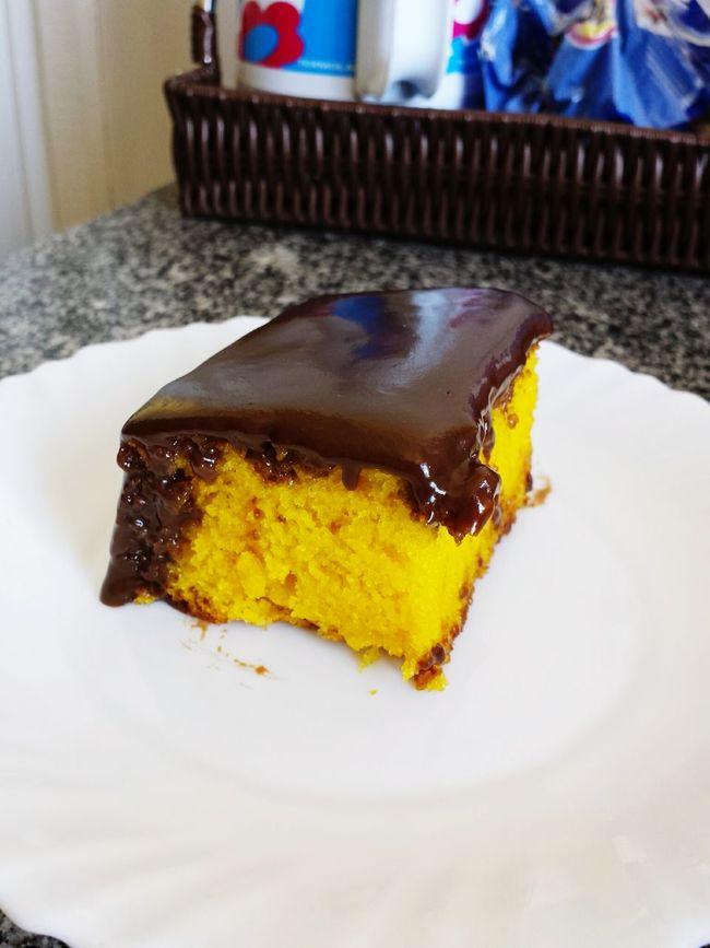 Cake Chocolate Cenoura